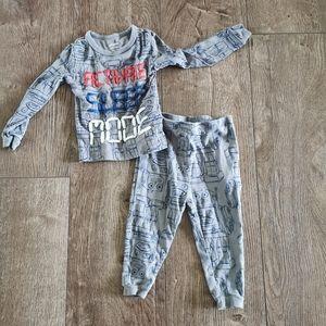 3/$12 Joe Fresh Toddler Boy pajamas 12-18 m
